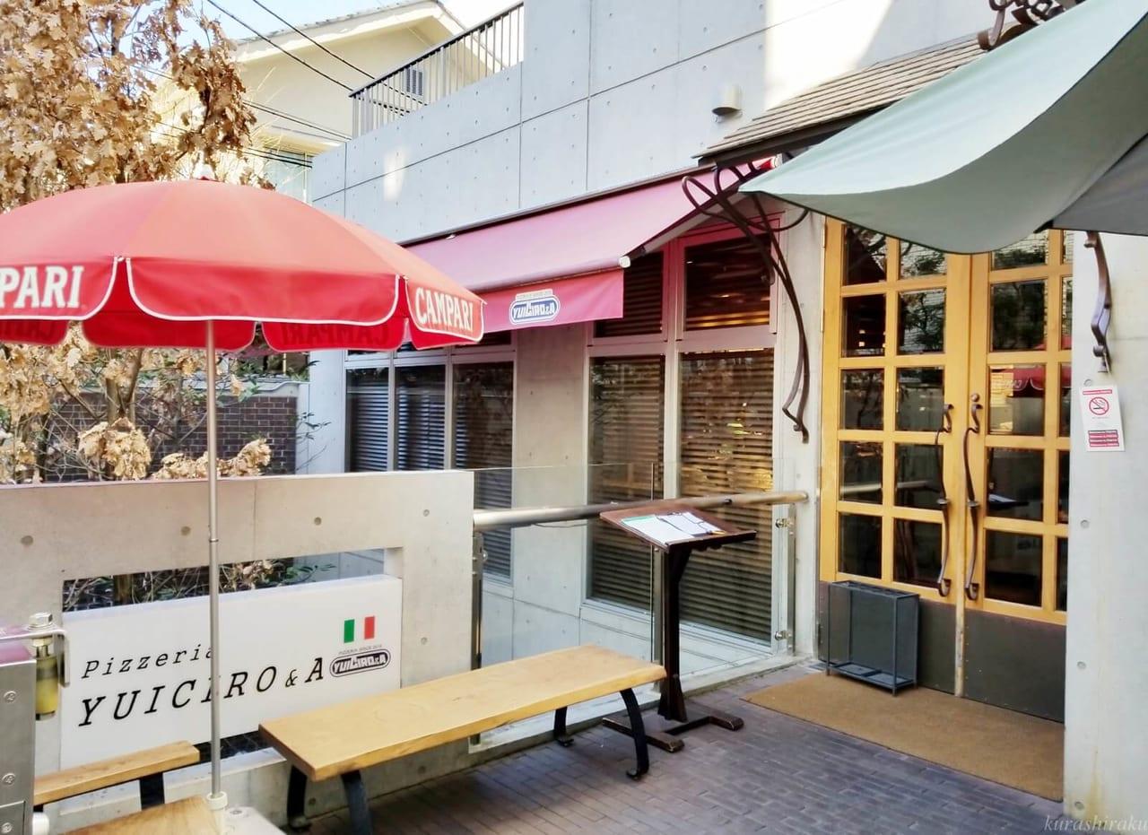 Pizzeria YUICIRO&Aのお店外観