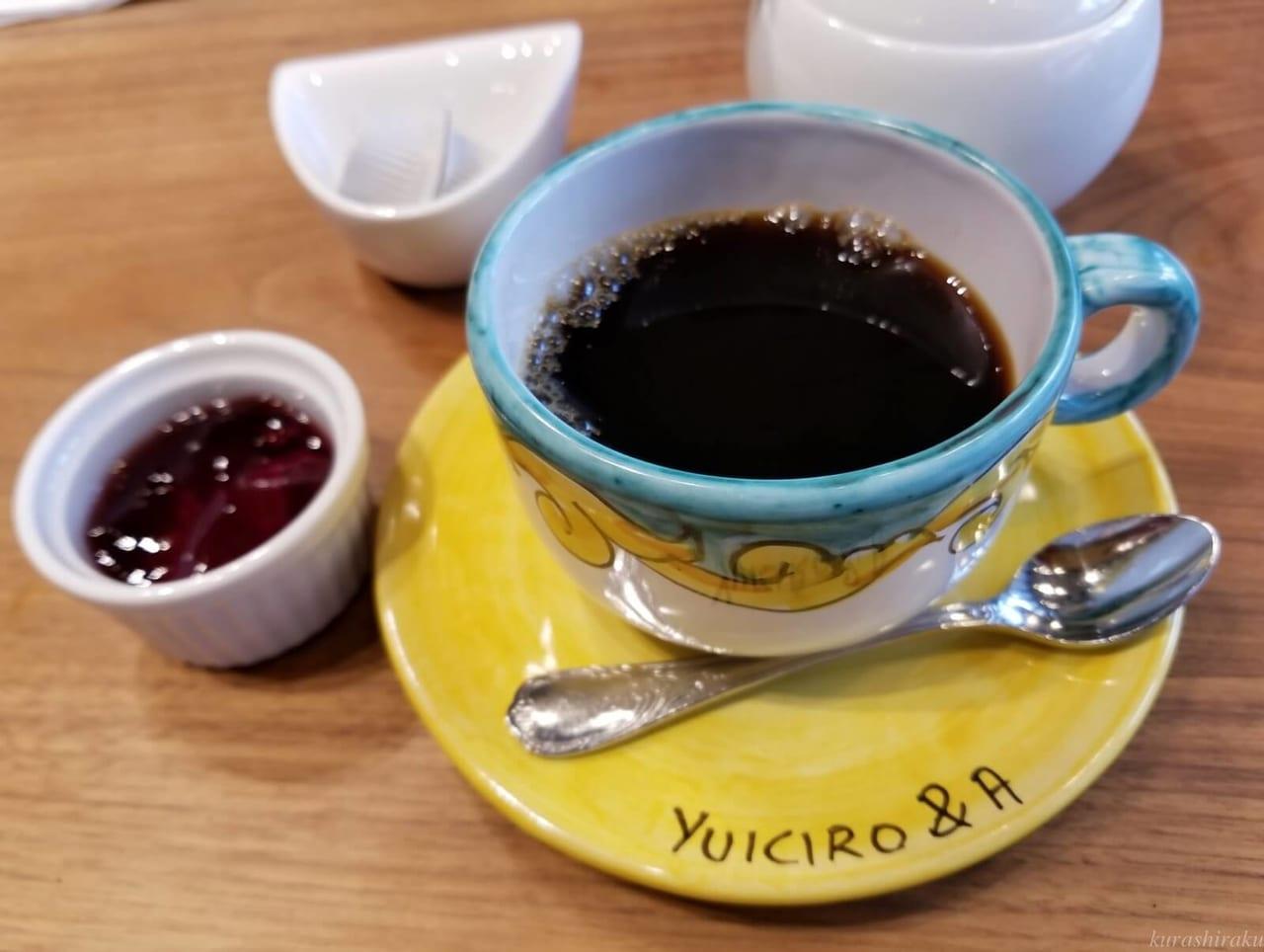 Pizzeria YUICIRO&Aのコーヒー