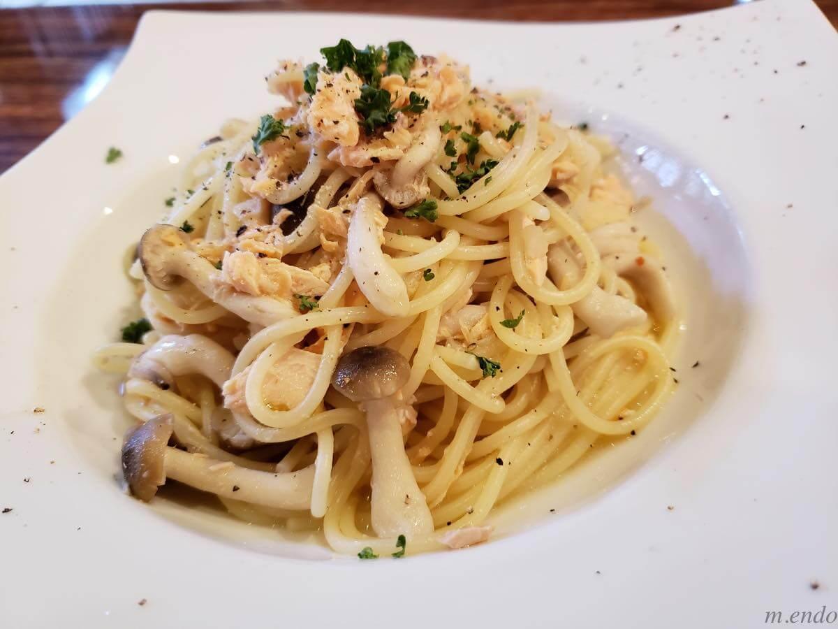ビストロ&バル ラポールのスパゲティ