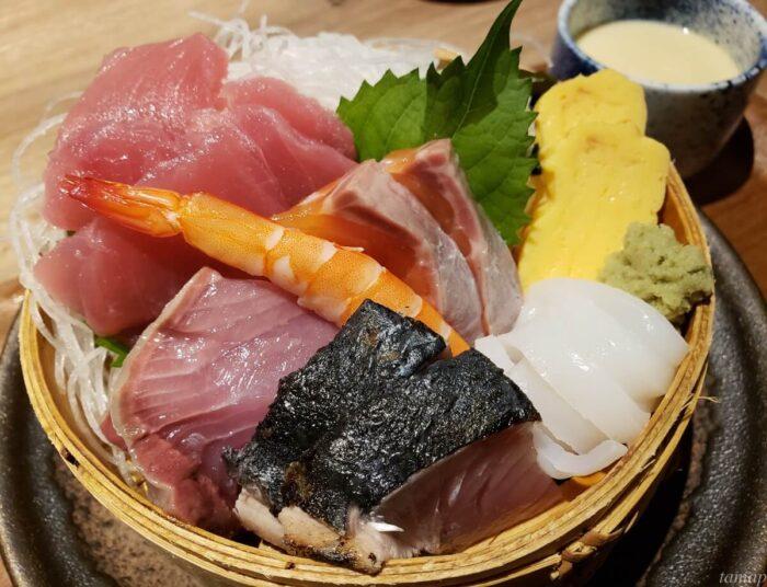 大漁刺身定食