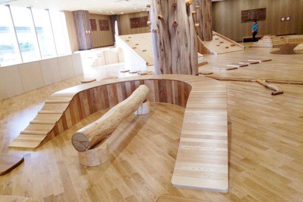 子供の屋内遊び場『創造冒険』がららぽーと立川立飛にオープン。木の遊具であふれるスポット