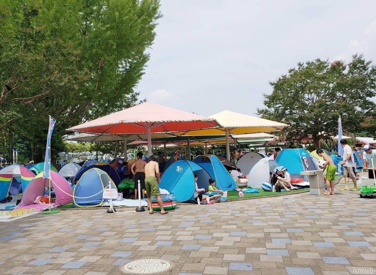 昭和記念公園のテント