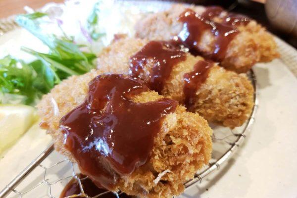 立川北口徒歩4分!「菊松食堂」で特大4個入りサクサク牡蠣フライ定食食べてきた