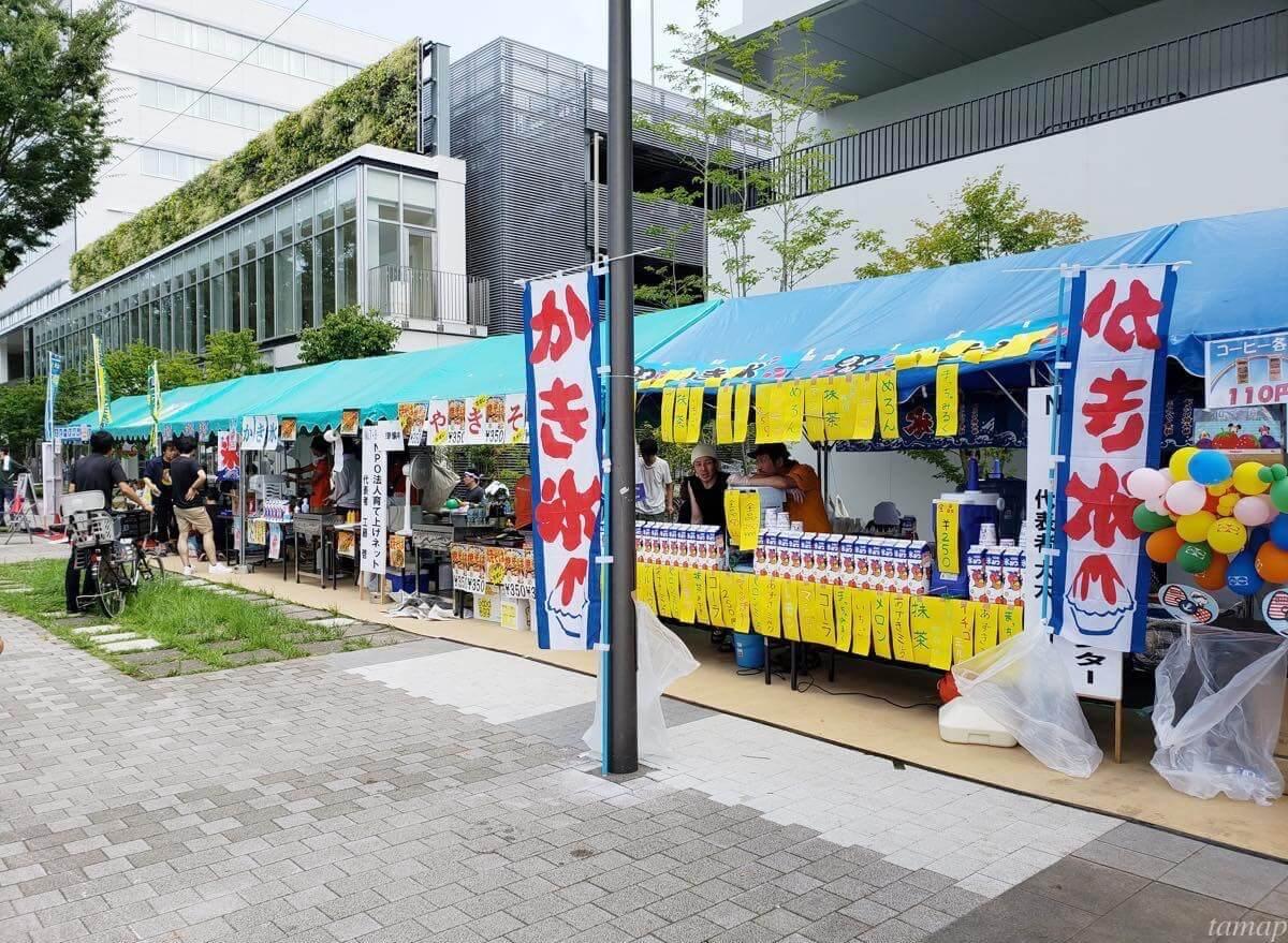 立川よいと祭りのお店