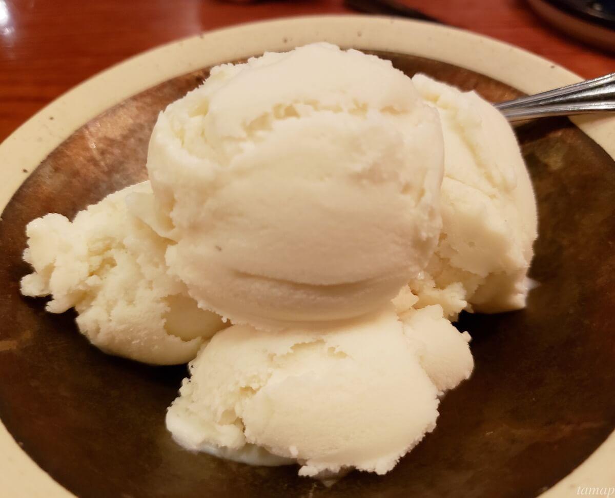 さつまいものアイスクリーム