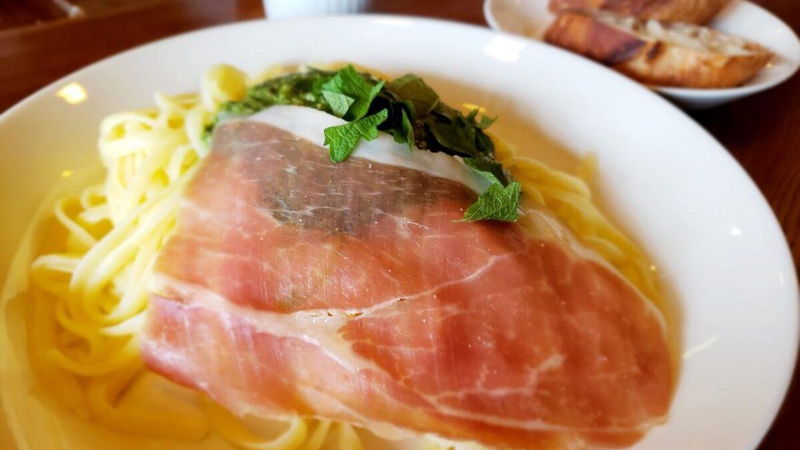 立川北口徒歩4分!「菊松西洋料理店」でもっちもち生パスタを食べてきた