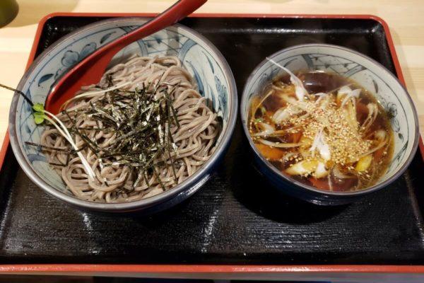 立川駅北口「つけ蕎麦 BONSAI(ボンサイ)」に行ってきた。つけ汁の甘酸っぱさがクセになりそう