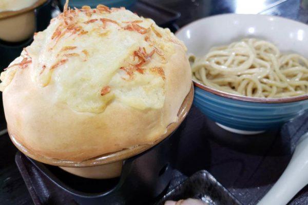 西武立川駅徒歩3分「UMA TSUKEMEN」で濃厚エビスープのパイ包みつけ麺食べてきた