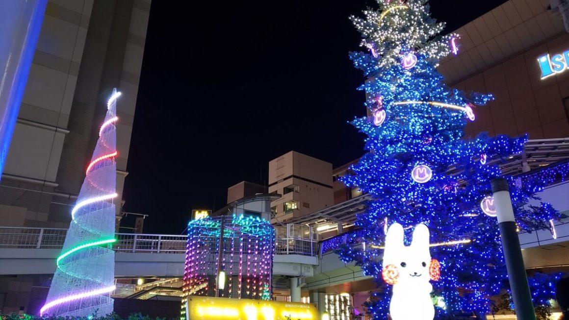 立川駅北口2018イルミネーション点灯式「Tachikawa燦燦Illumination」に参加してきた