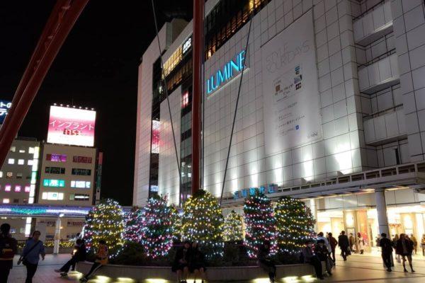 【2018】立川駅周辺イルミネーションスポット5選。駅周辺だけでもこんなに楽しめちゃう