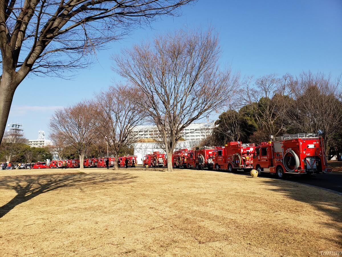 立川消防出初式