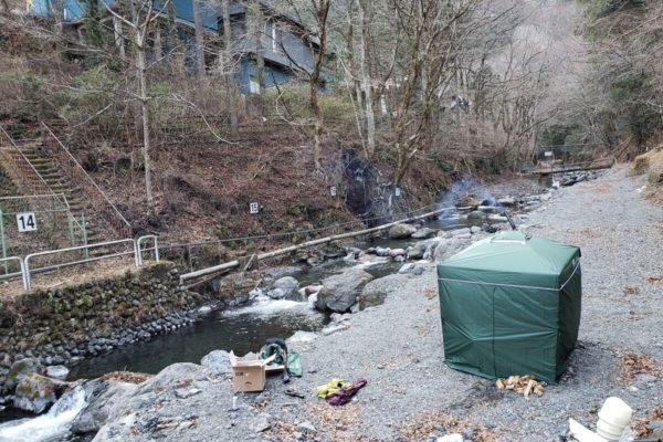 真冬に奥多摩にある「峰谷川渓流釣場」でテントサウナの体験イベントを開催した結果