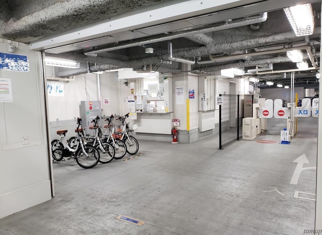 立川駅レンタサイクル