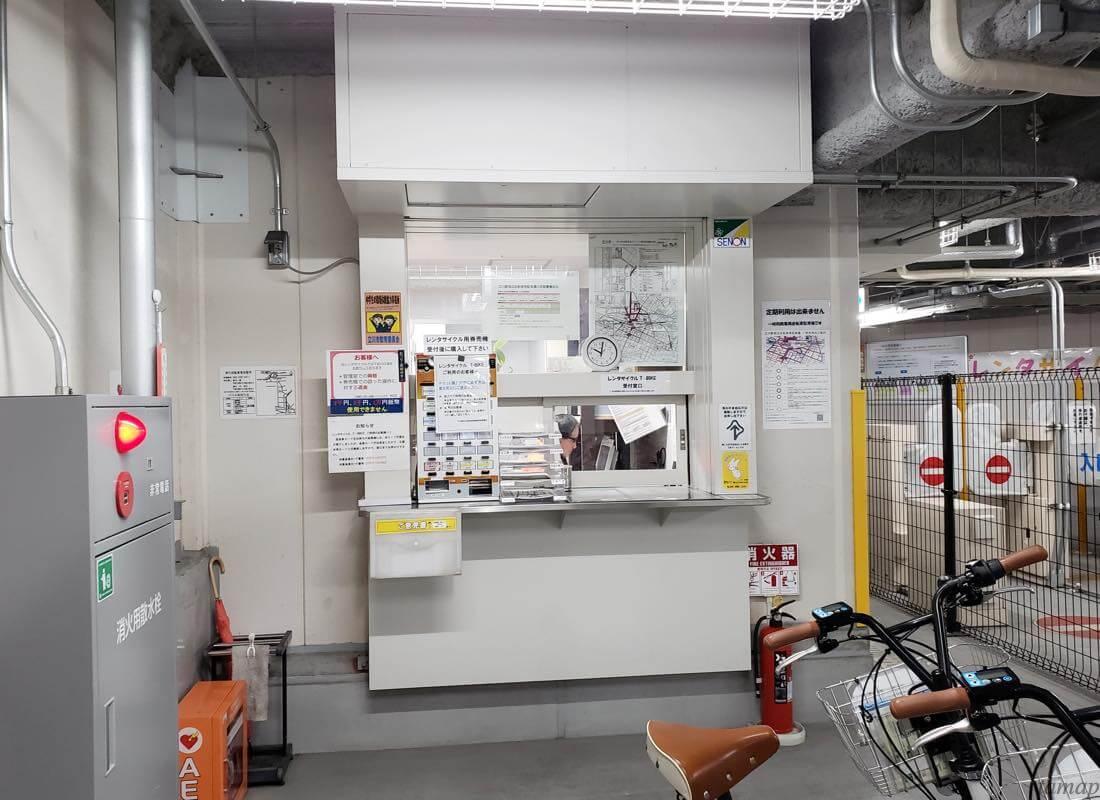 立川駅のレンタサイクル