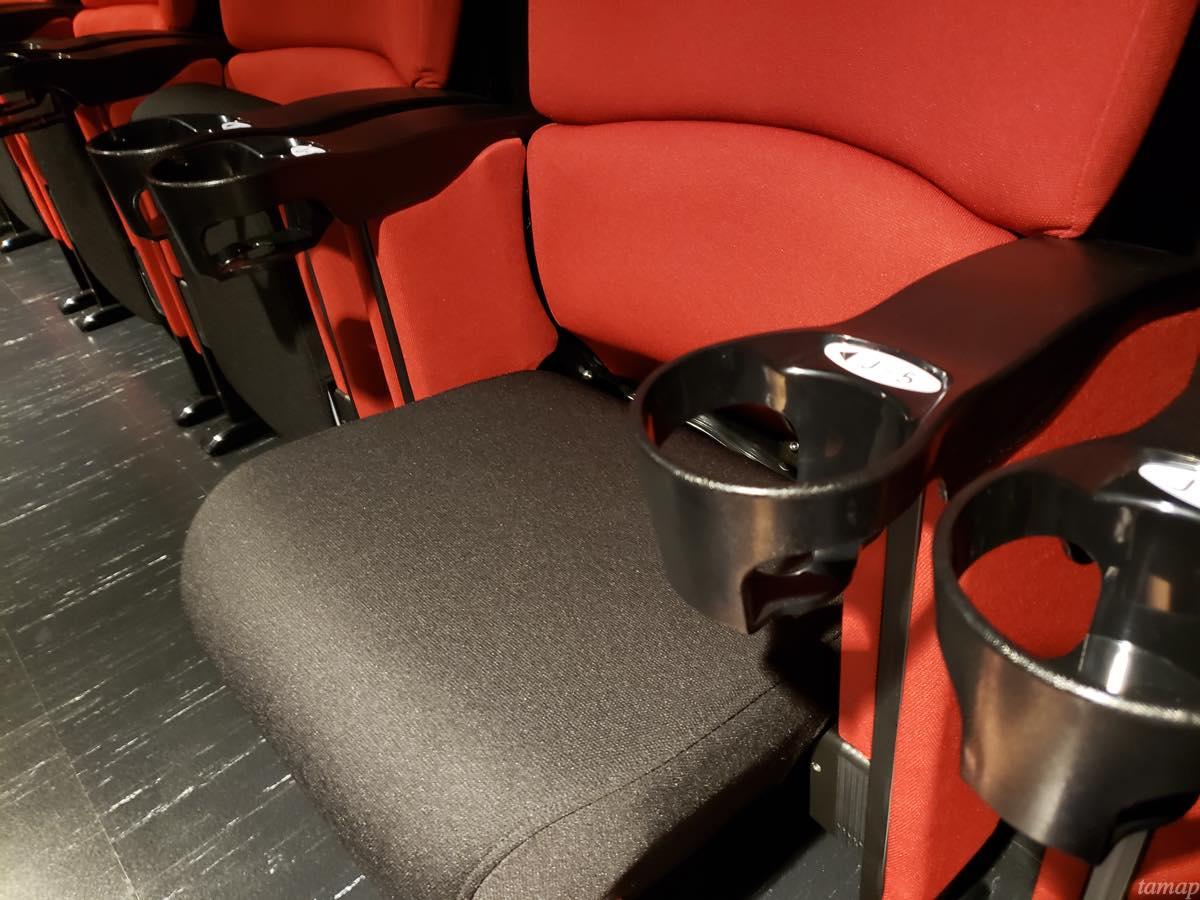 キノシネマ立川の座席シート