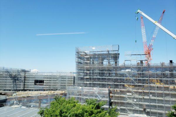 「GREEN SPRINGS(グリーンスプリングス)」立川北口駅前2019年6月の建設状況はこんな感じ!