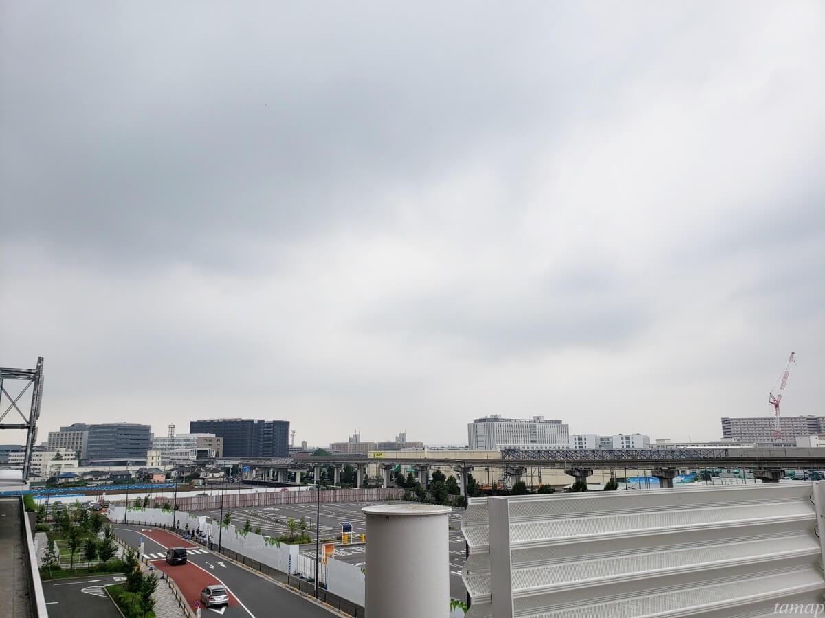 昭和記念公園花火大会の方角