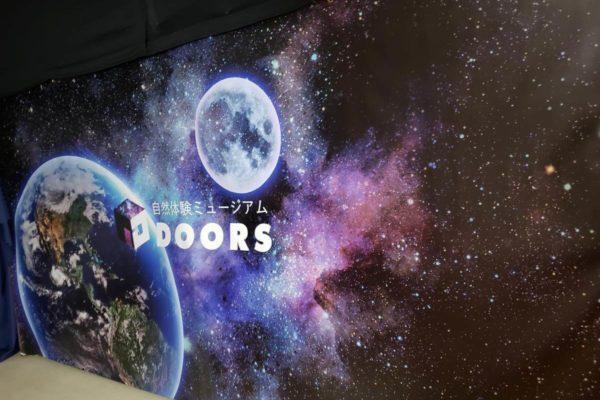 ららぽーと立川立飛に360度新感覚自然体験ミュージアム「DOORS(ドアーズ)」がオープンしたので行ってきた
