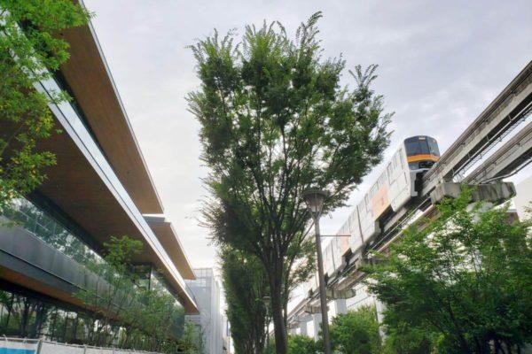 JR立川駅北口再開発「GREEN SPRINGS」2019年8月末の建設状況。9月に工場見学ツアーもあり!