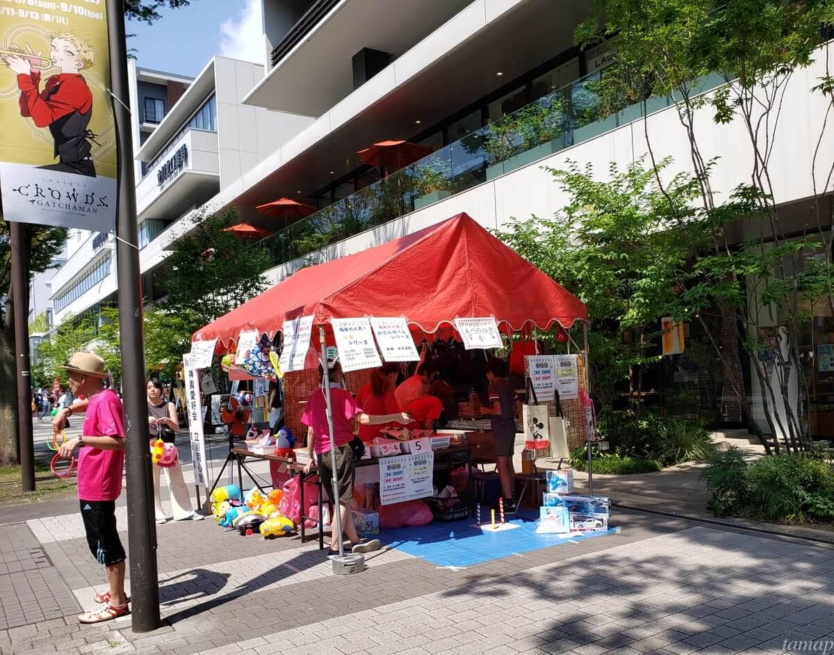 立川よいと祭りの模擬店