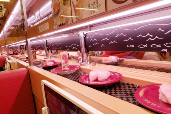 「SUSHIRO(スシロー) 立川駅南口店」に行ってきた。駅チカ回転寿司の店舗とメニューはこんな感じ