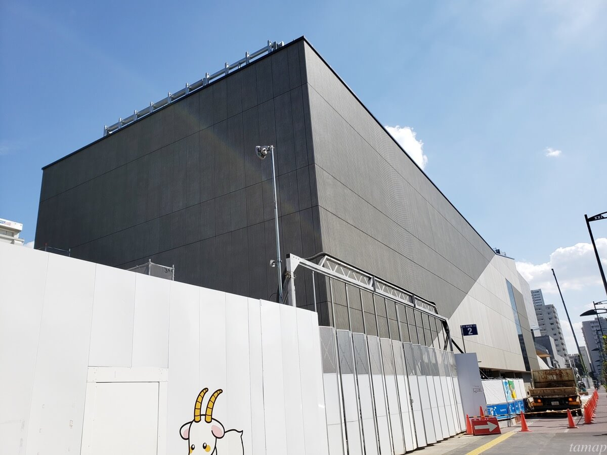 GREEN SPRINGS2019年9月の建物