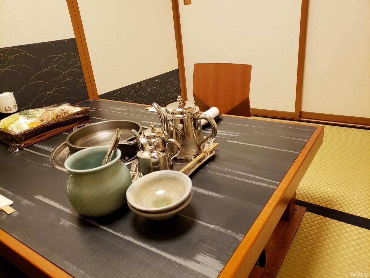 近江源助のテーブル