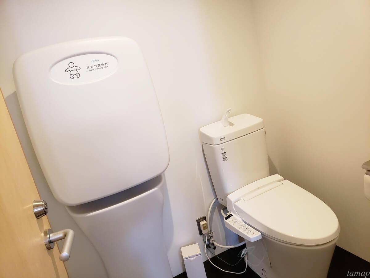 トイレとおむつ替え