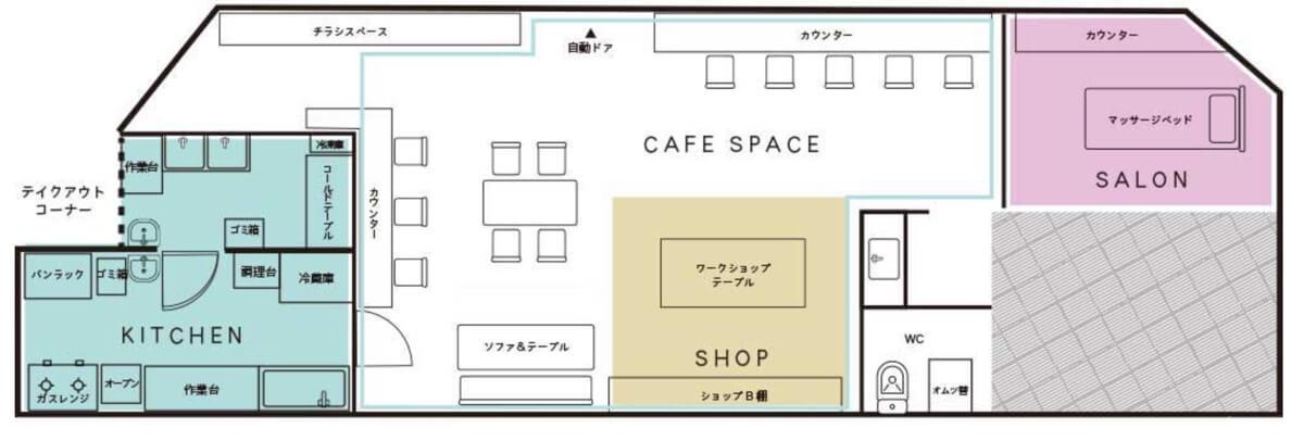 「チェレステ・ガーデン」の配置図