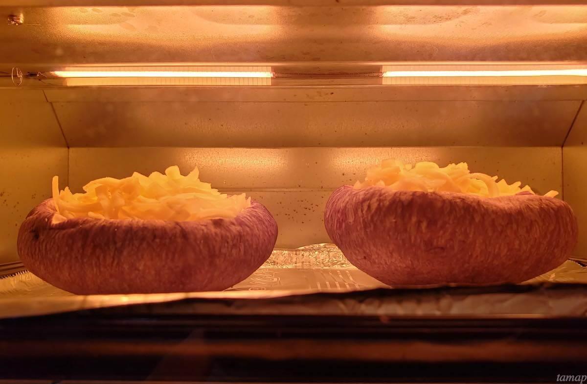しいたけをトースターで焼いたところ