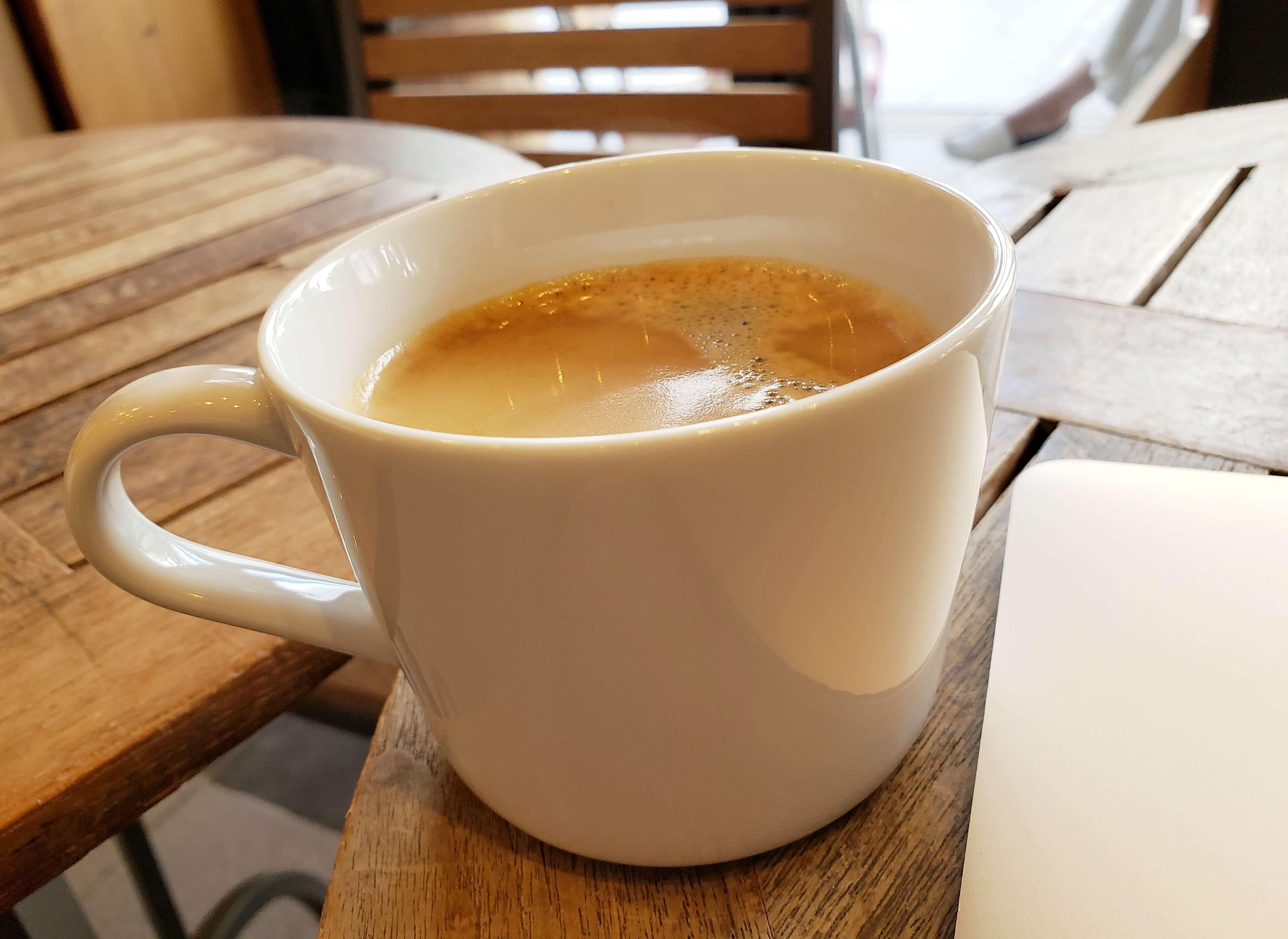 akariバルのコーヒー