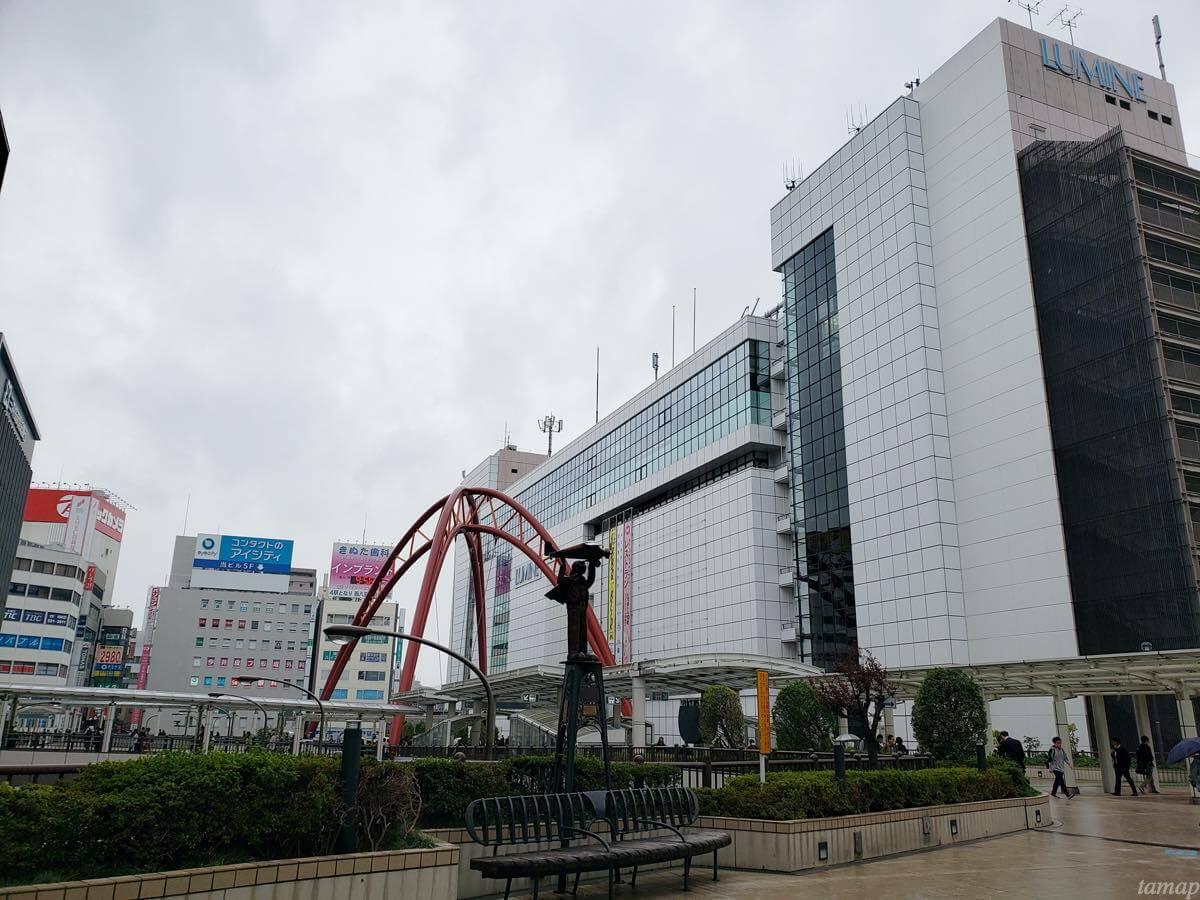 JR立川駅の北口
