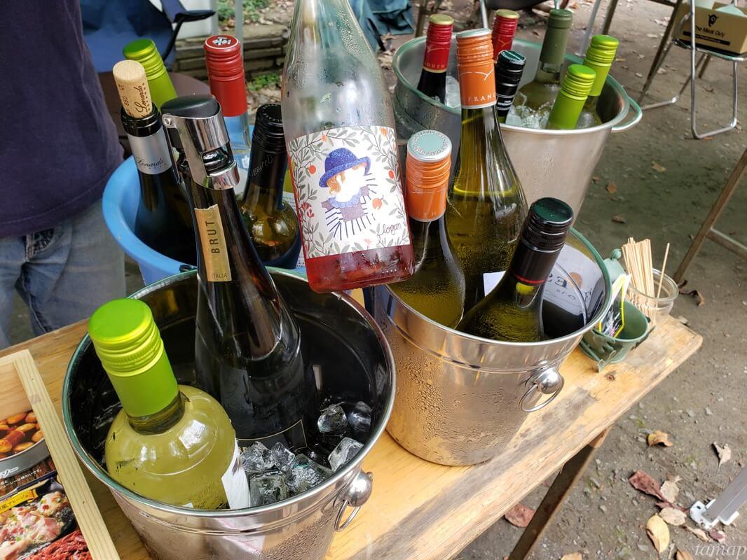 鬼うまフェスのワイン