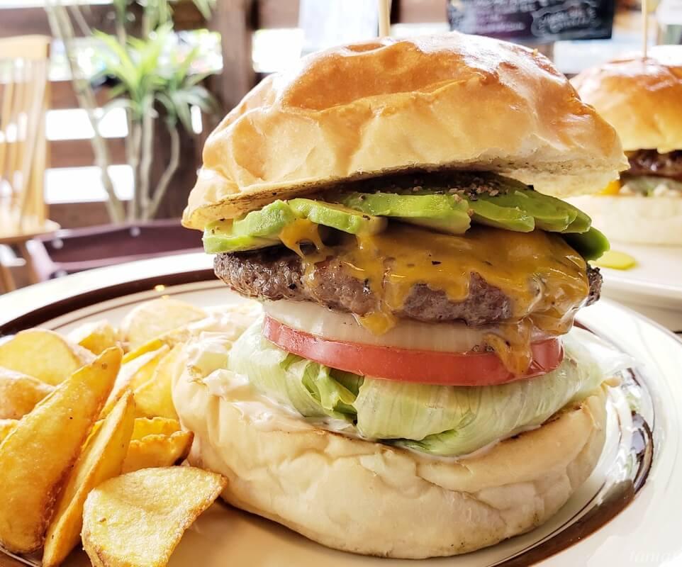 デリッシャーズのハンバーガー