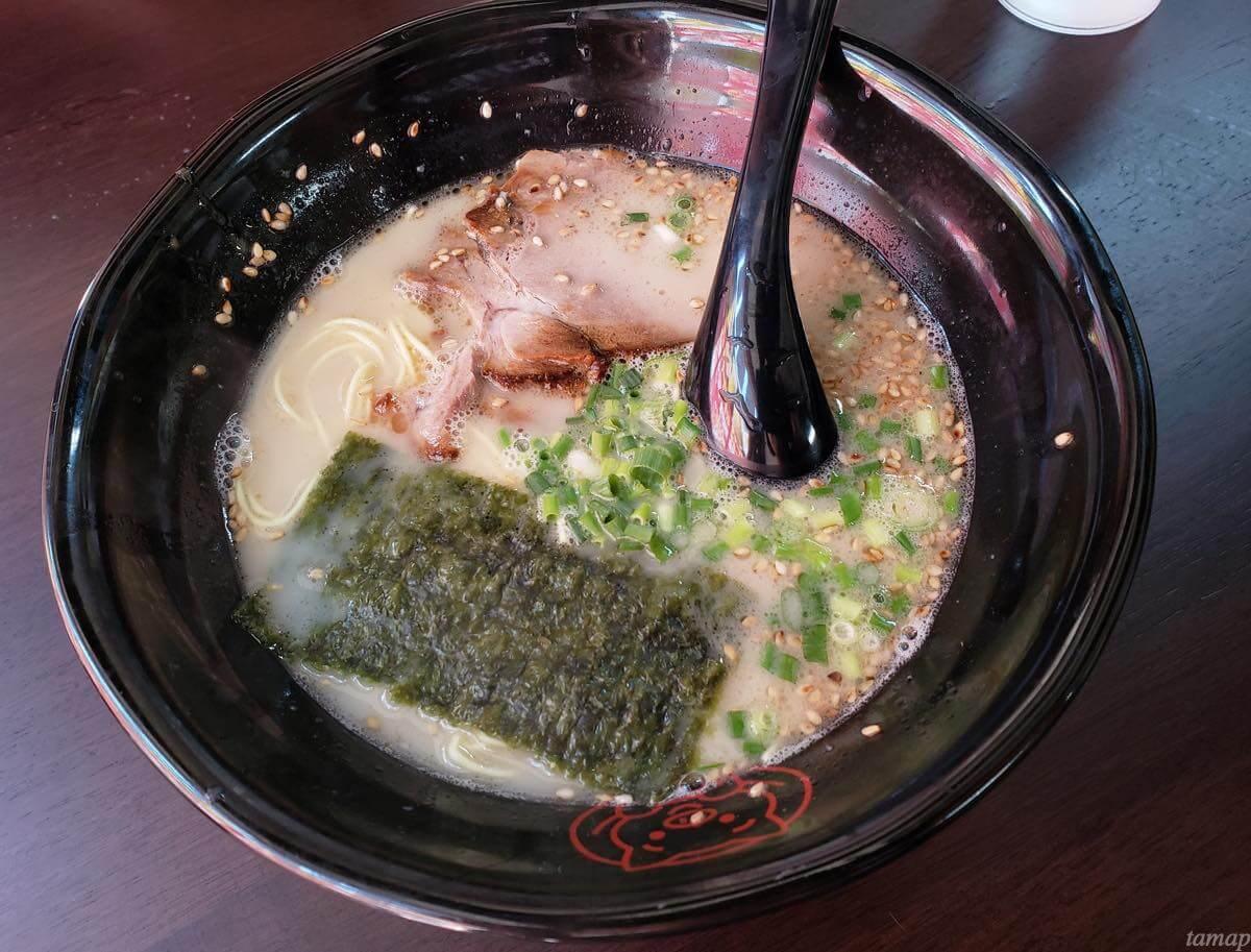 九州博多ラーメン「長浜や」のラーメン
