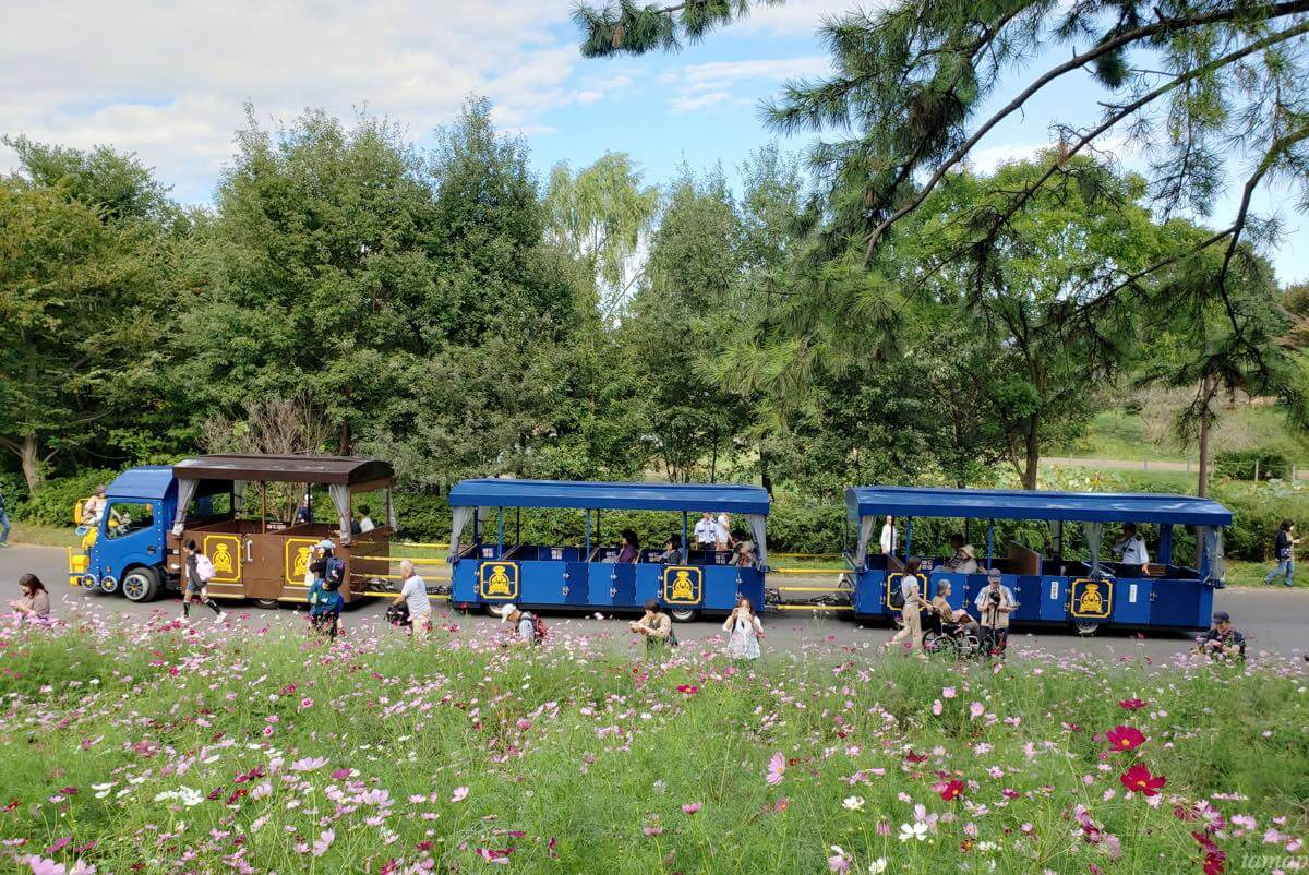 昭和記念公園のパークトレイン
