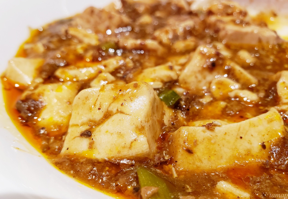 ドランクドラゴンの麻婆豆腐