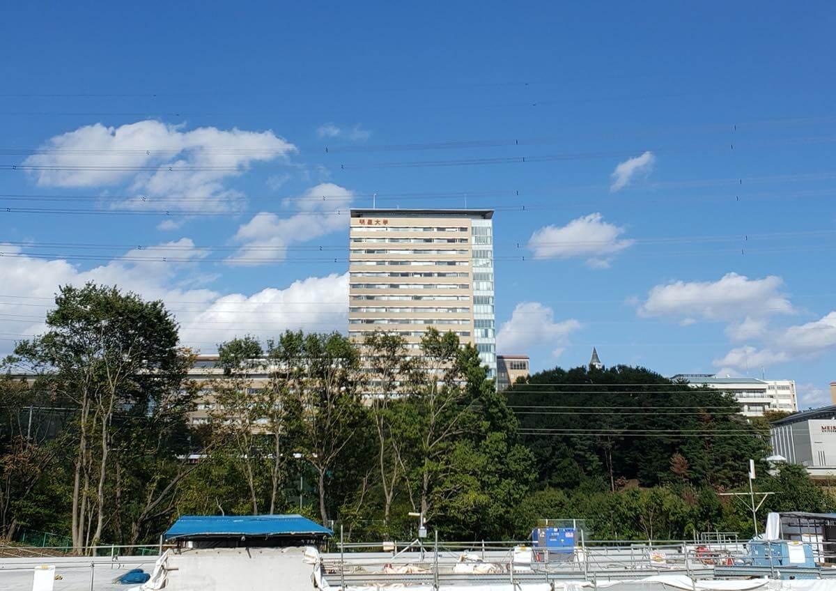 明星大学の建物