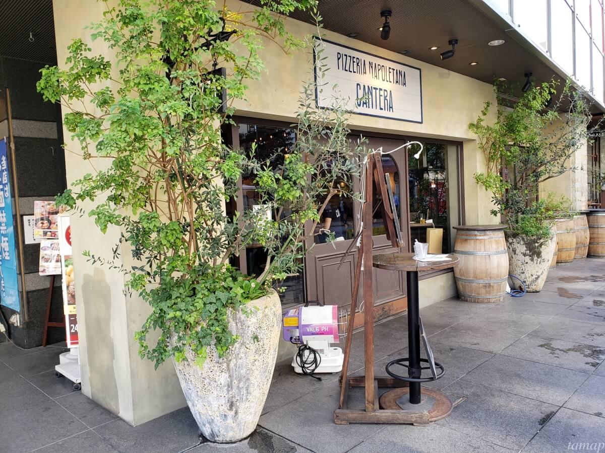 CANTERA立川店の外観