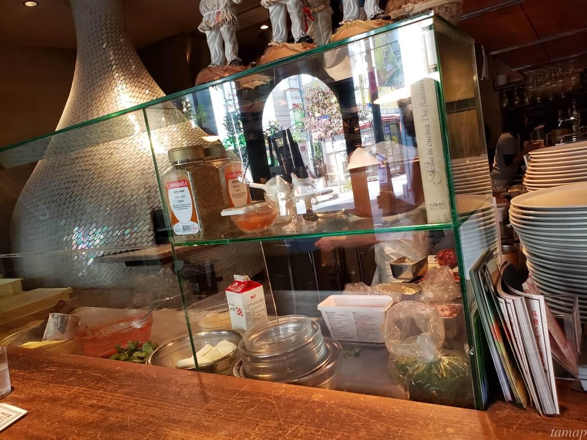 CANTERA立川店のカウンター
