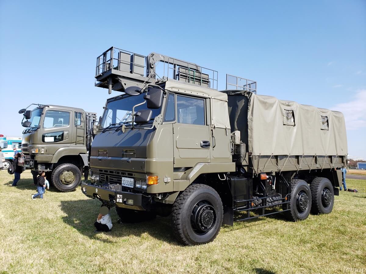 立川防災航空祭のトラック
