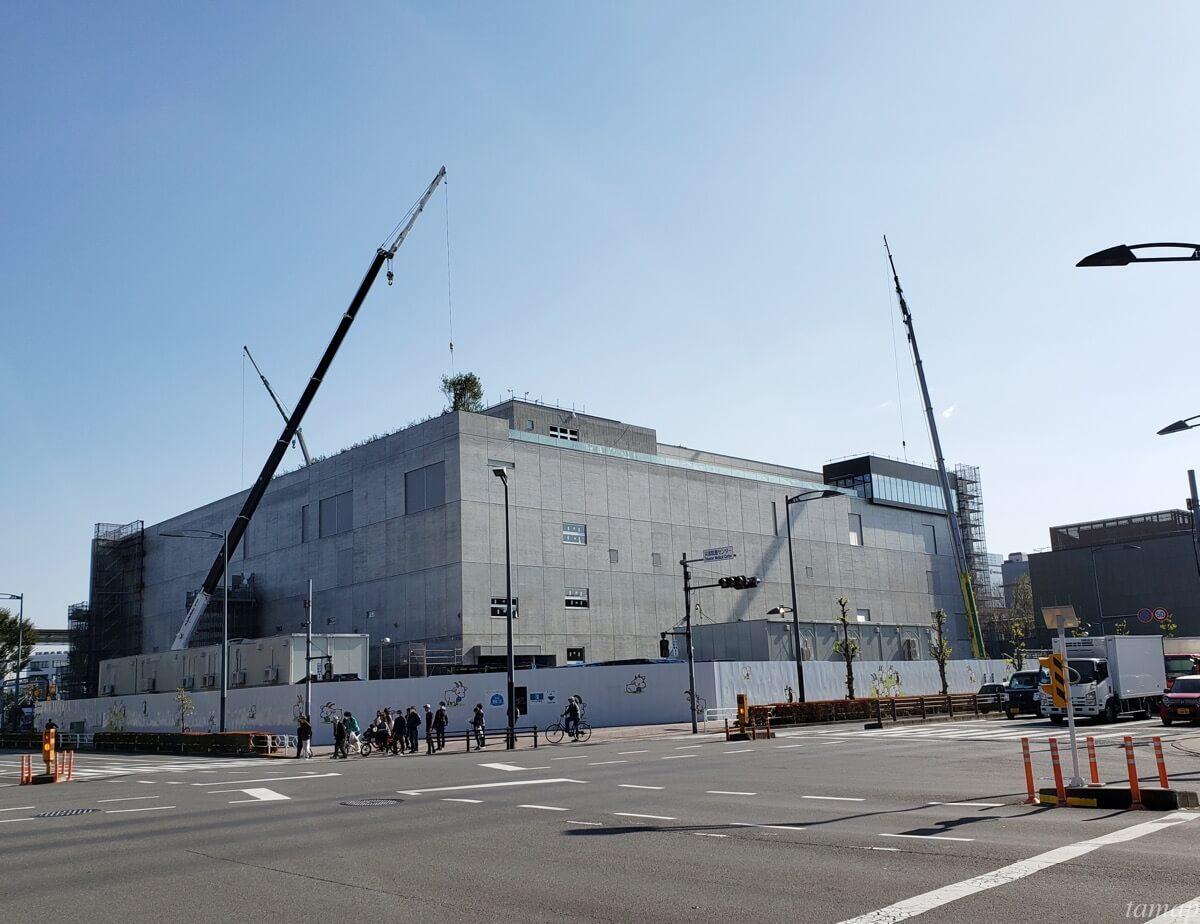 GREENSPRINGS2019年11月の建設状況「ステージ立川」