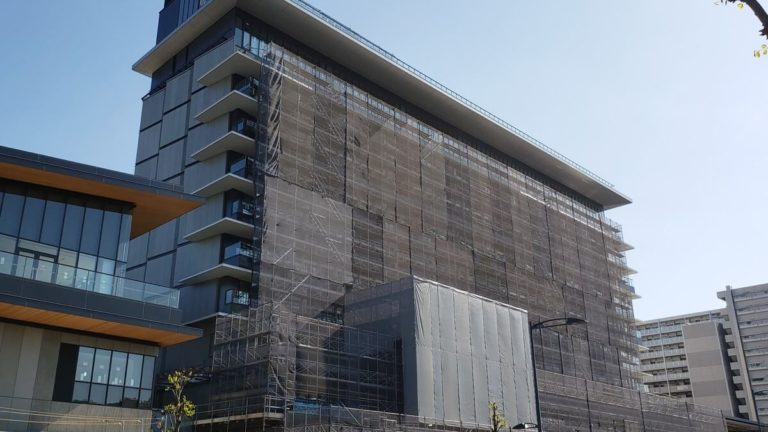 GREENSPRINGS2019年11月の建設状況「SORANOHOTEL」