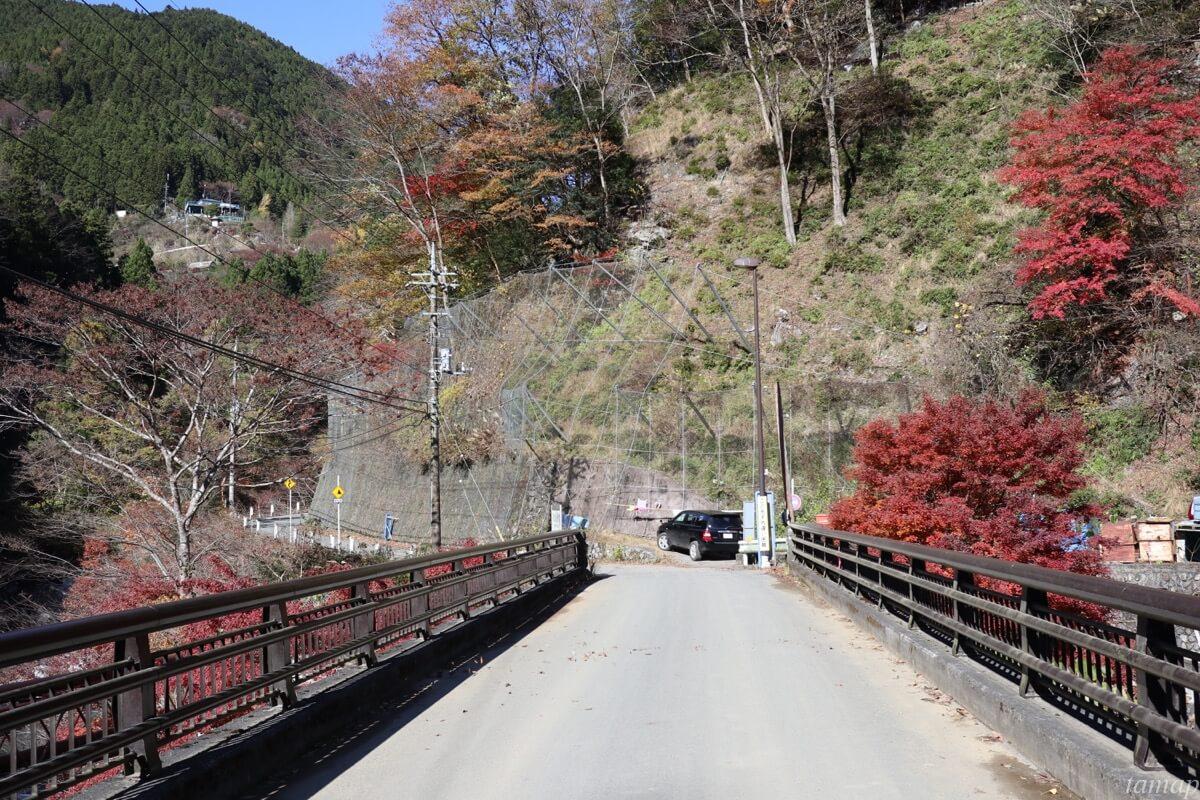 日原街道の橋