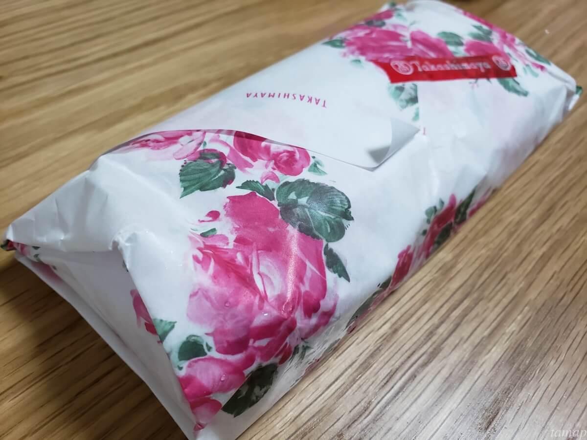 立川高島屋S.C.の御座候の包み紙