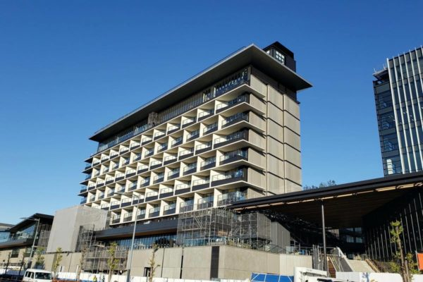 「グリーンスプリングス」内『SORANO HOTEL』がついに姿を現す!半年間の建築風景をまとめてみた