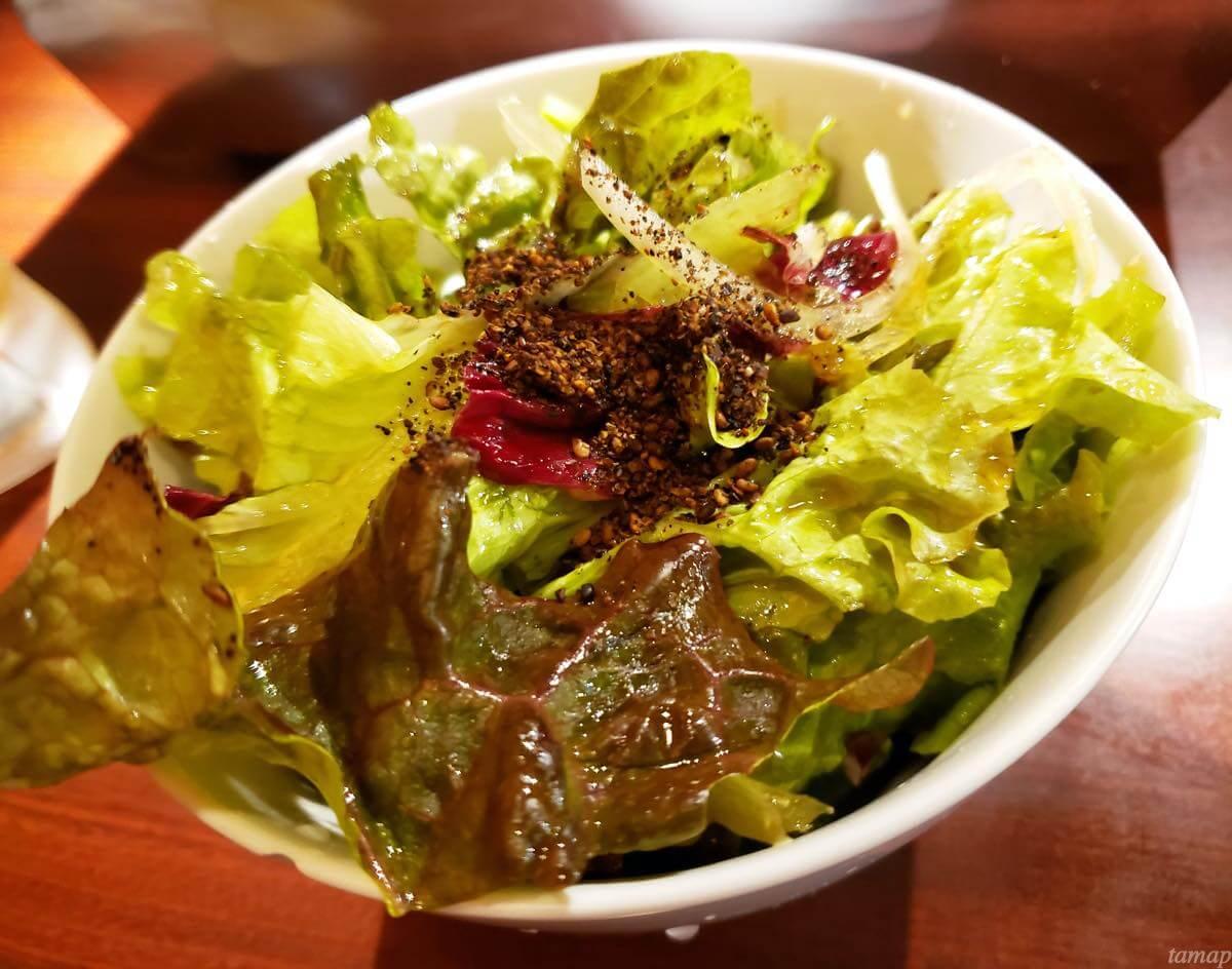 『焼肉 大幸園 立川店』のチョレギサラダ