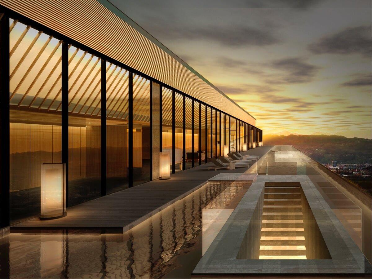 ソラノホテルの屋上
