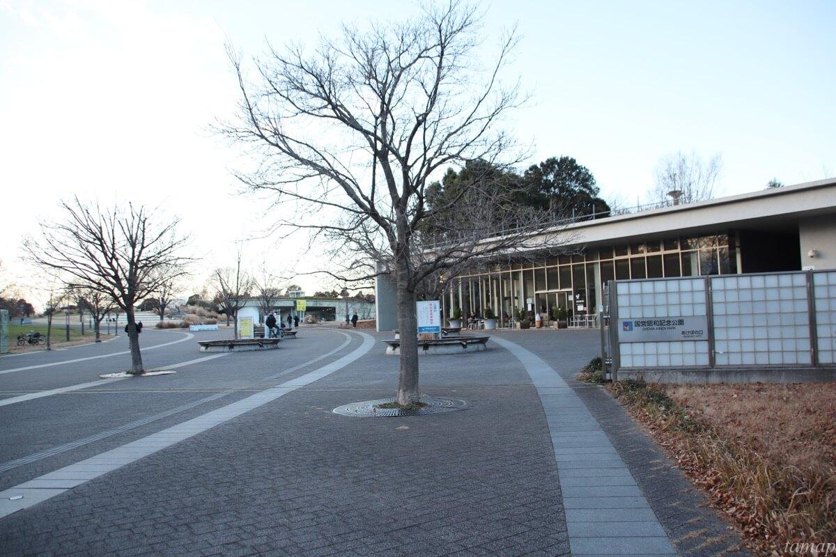 昭和記念公園「あけぼの口」