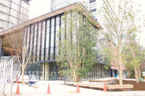 JR立川駅北口再開発「GREEN SPRINGS」2020年1月下旬の建設状況。よりグリーンな街並みに
